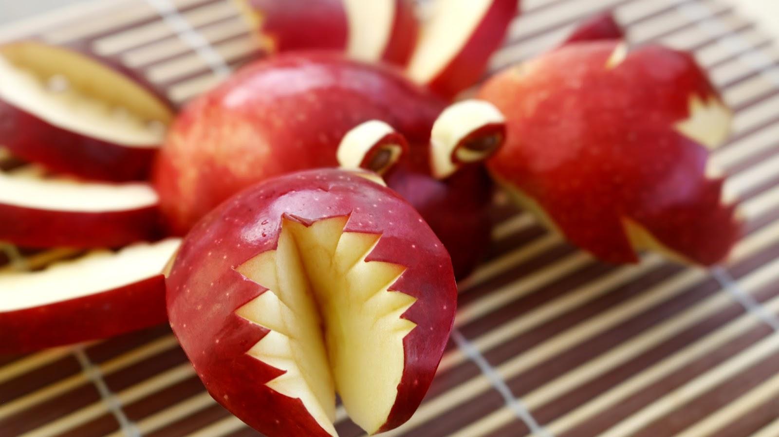 Красивая фруктовая нарезка из фруктов разных видов фото, фруктовый карвинг фото идеи
