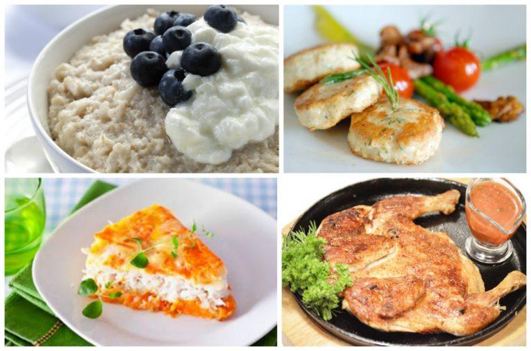 Рецепты простой диеты