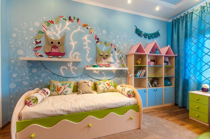 Как украсить комнату к встрече новорожденного своими
