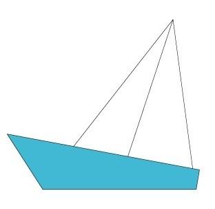 korablik4 Кораблик из бумаги. Как сделать кораблик из бумаги — пошаговая инструкция с фото