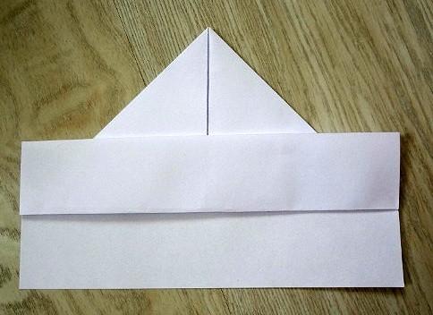 korablik8 Кораблик из бумаги. Как сделать кораблик из бумаги — пошаговая инструкция с фото