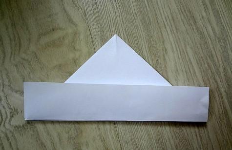 korablik9 Кораблик из бумаги. Как сделать кораблик из бумаги — пошаговая инструкция с фото