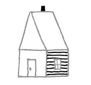 narisovatdom10 Как нарисовать дом. Рисуем дом поэтапно карандашом