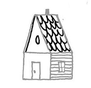 narisovatdom11 Как нарисовать дом. Рисуем дом поэтапно карандашом