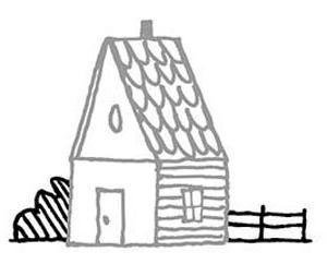 narisovatdom12 Как нарисовать дом. Рисуем дом поэтапно карандашом