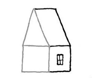 narisovatdom9 Как нарисовать дом. Рисуем дом поэтапно карандашом
