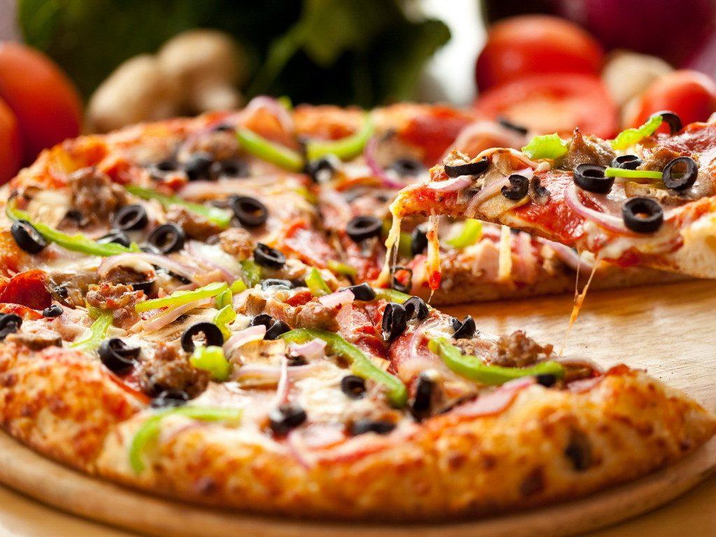 Пышное тесто для пиццы