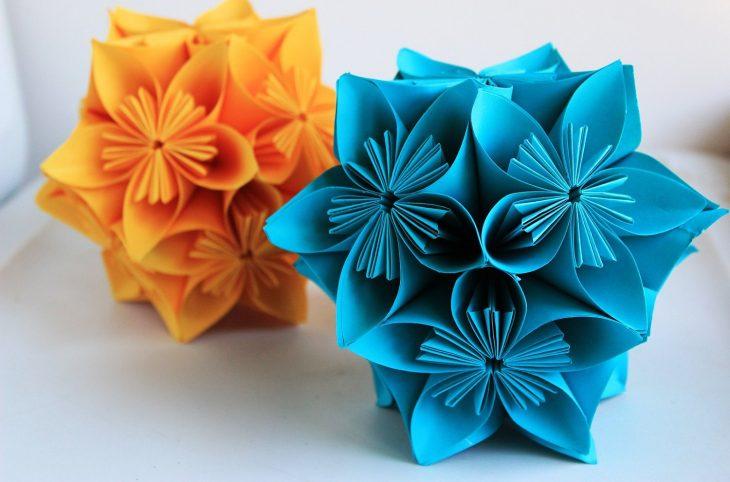 Цветы из бумаги своими руками (76 фото шаг за шагом как) 68