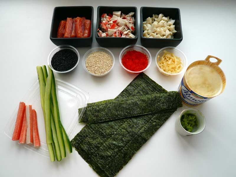 Суши Роллы - 60 рецептов приготовления пошагово