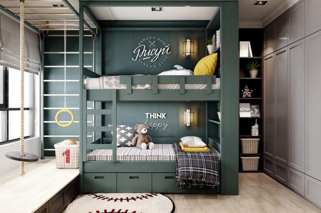 комнаа для двоих  детей