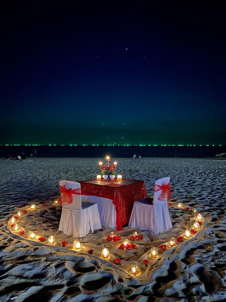 романтическое предложение