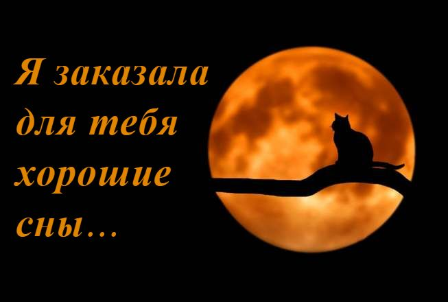 Пожелания спокойной ночи красивые