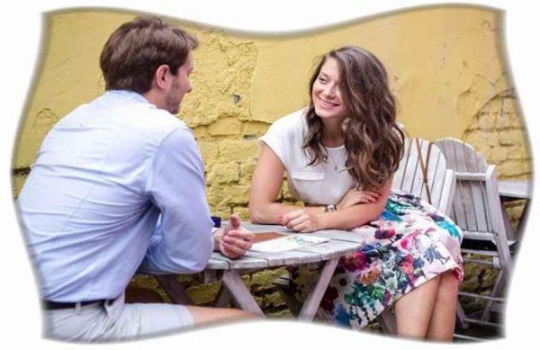 Спонтанная встреча молодой пары может стать отправным пунктом в развитии интимных отношений